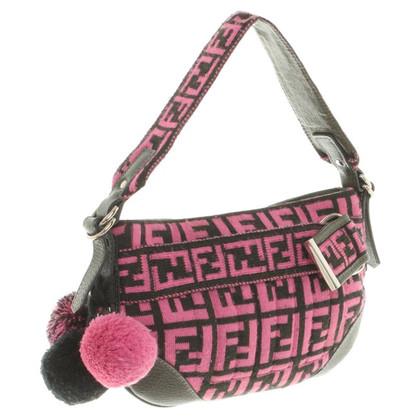 Fendi Shoulder bag made of knitwear