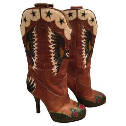 Dolce & Gabbana Boots im Cowboy-Stil