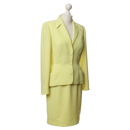 Mugler Yellow costume