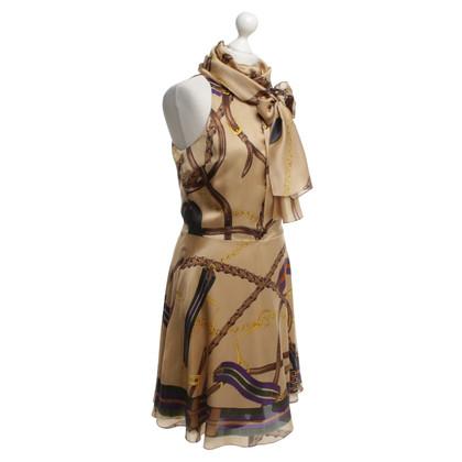 Ralph Lauren Silk dress with pattern