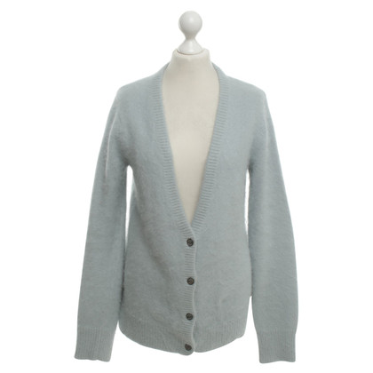 Maison Scotch Srickjacke en bleu clair