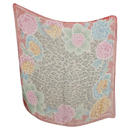 Dolce & Gabbana Zijden sjaal met animal print