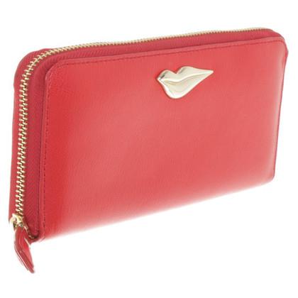 Vivienne Westwood Portemonnaie in Rot