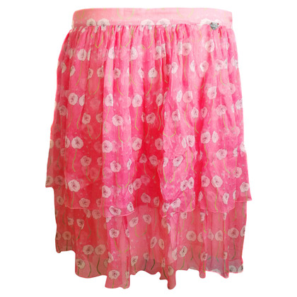 Blumarine silk skirt