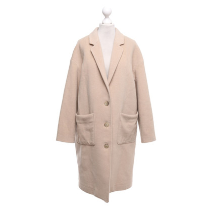 Closed Coat in beige