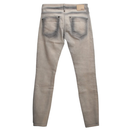 Drykorn Jeans with ablution in beige/grey