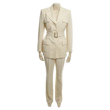 Rena Lange tailleur pantalone in beige