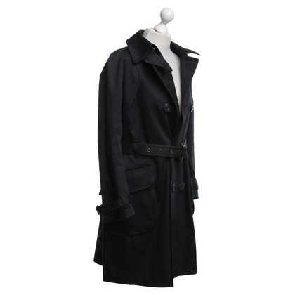 Dsquared2 Trenchcoat in Marineblau