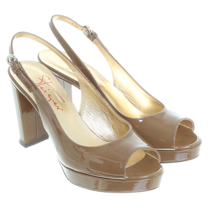 Walter Steiger Sandals patent leather