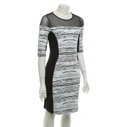 Other Designer Joseph Ribkoff - dress in black and white
