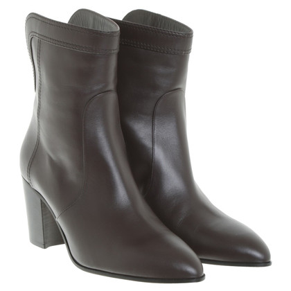 Chanel Boots in dark brown