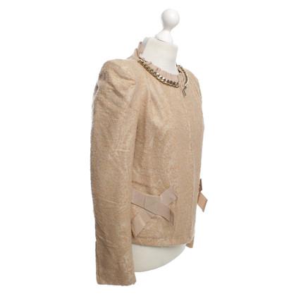 Twin-Set Simona Barbieri Jacket in beige color