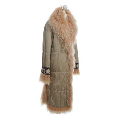 Ermanno Scervino Coat with fur