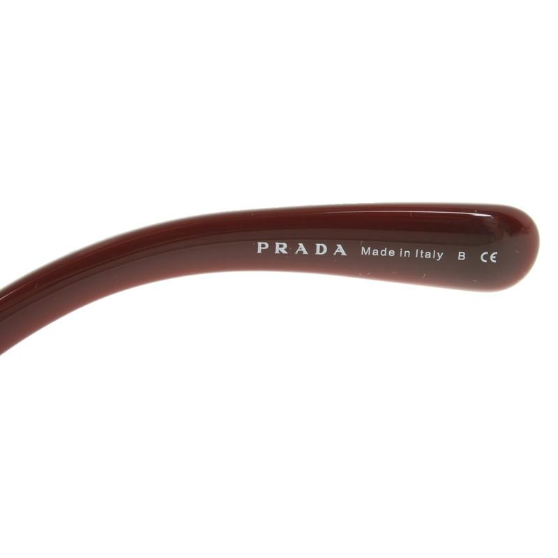 839b8110e7715 ... closeout prada sunglasses in burgundy fb7fa b404d