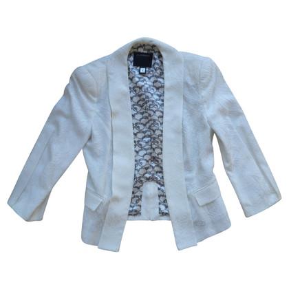 Roberto Cavalli blazer blanc