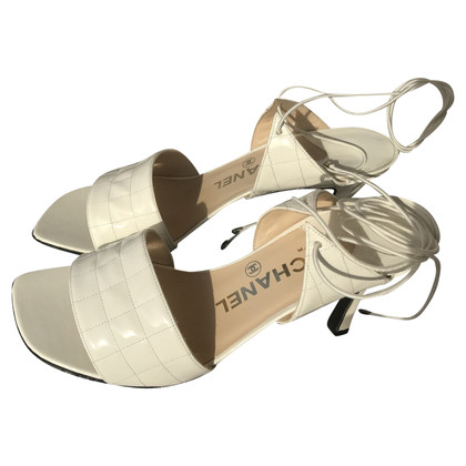 Chanel Sandals in white
