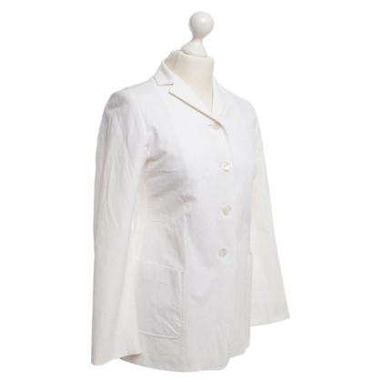 Jil Sander giacca bianca