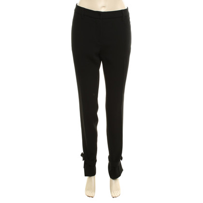 Miu Miu Flowing trousers in black