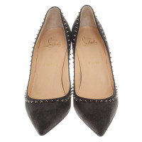 Christian Louboutin Anthracite color pumps