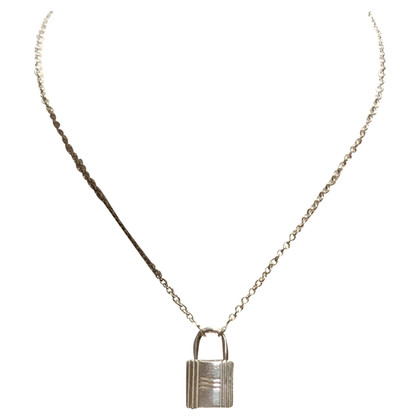 Hermès Silver chain with lock