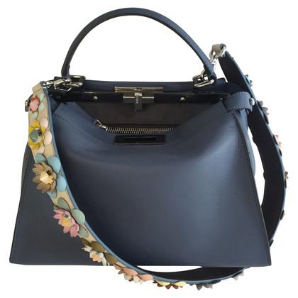 Fendi Handbag Peekaboo with flower strap