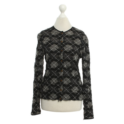 Wolford Cardigan with check pattern