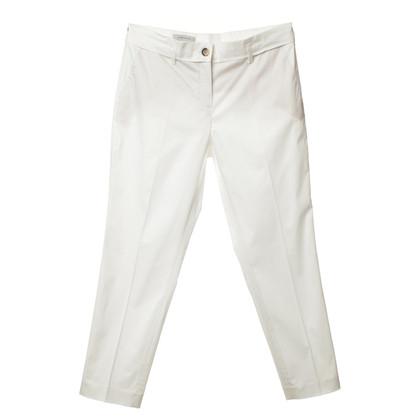 René Lezard Pantaloni tuta in bianco