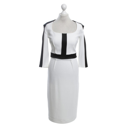 Other Designer Safiyaa dress in black / white