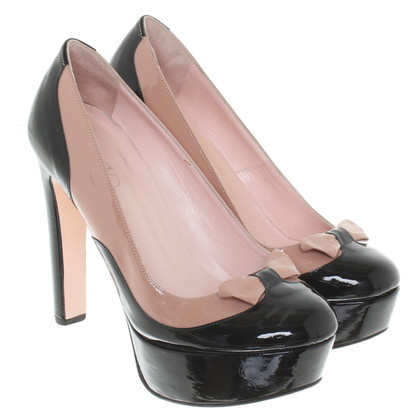 Red Valentino pumps in patent leather