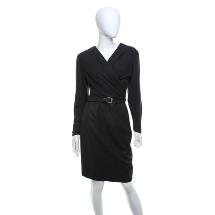 Other Designer Louis Féraud - dress in dark gray