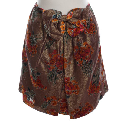 Anna Sui Short skirt with loop