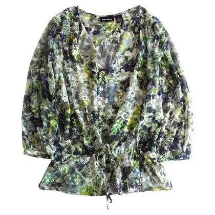 DKNY Floral summer blouse