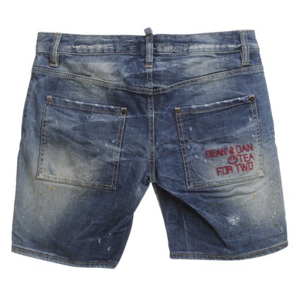 Dsquared2 Shorts with wash