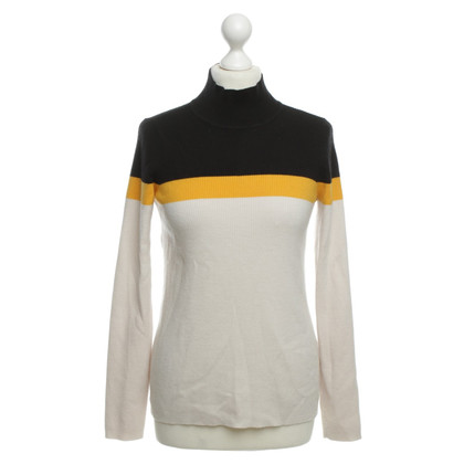 Ganni Sweater yellow/black