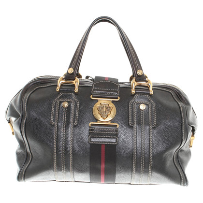 Gucci Leather Travel Bag