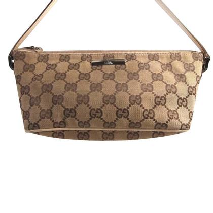 Gucci Clutch bag met stof