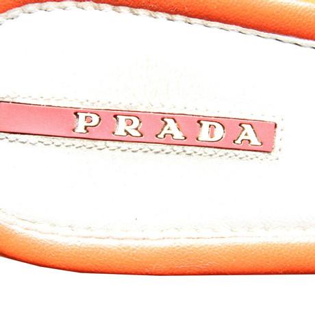 Prada Ballerinas Bunt Prada Muster Bunt Prada Muster Ballerinas Ballerinas HXnxqX