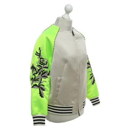 MSGM Oversized bomber jacket