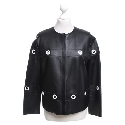 Iceberg Leather jacket in black