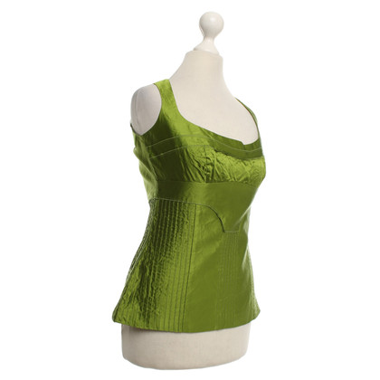 Prada top in green