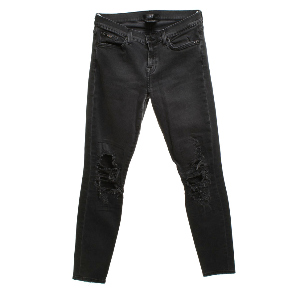 I've owned several 7 For All Mankind jeans and love them all. These are no exception. These jeans are high quality, well made, fit right in all the right places, and will last for years to come.