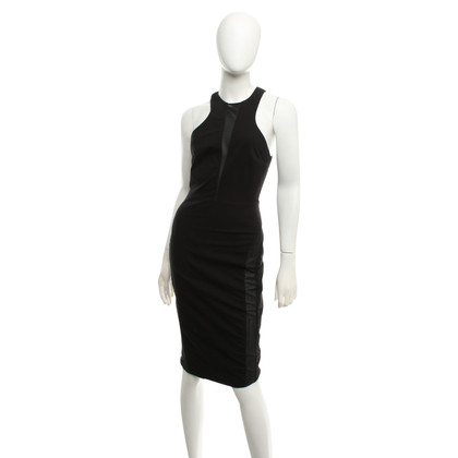 Elisabetta Franchi Black dress with mesh