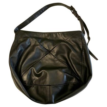 Giorgio Armani Leather bag with shoulder strap