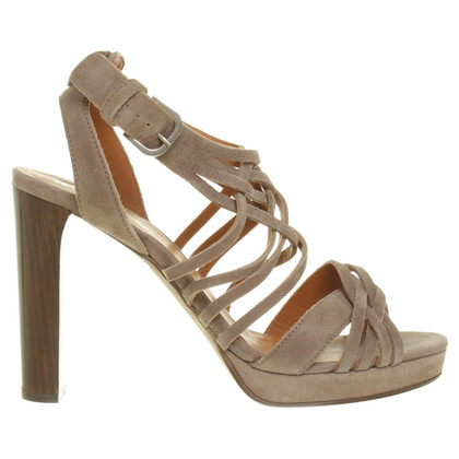 Boss Orange Strap sandal in Taupe