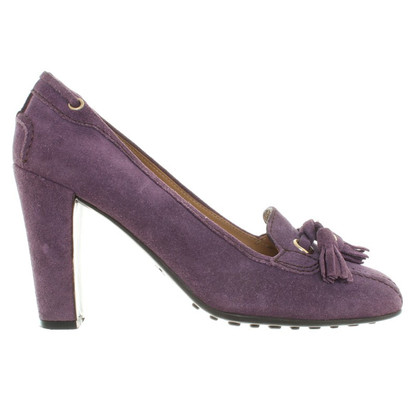 Car Shoe Pumps in Violett