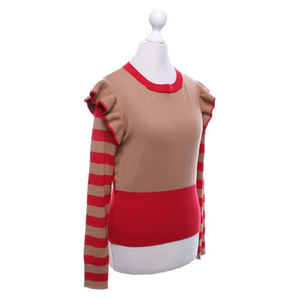 Other Designer Paul Mémoir - Sweater with red details