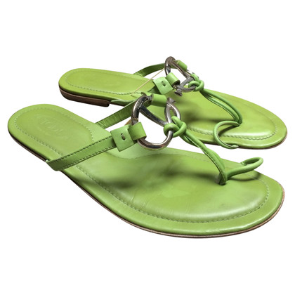 Tod's Tod's slippers groen