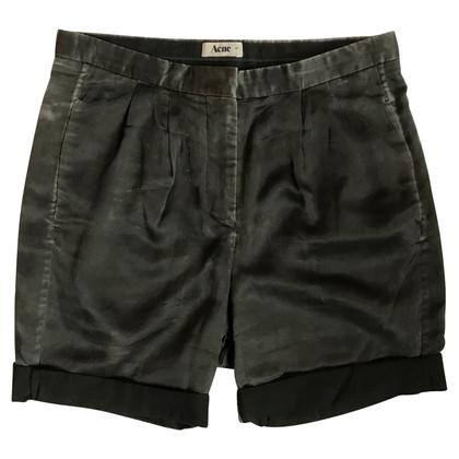 Acne Shorts Silk Mix