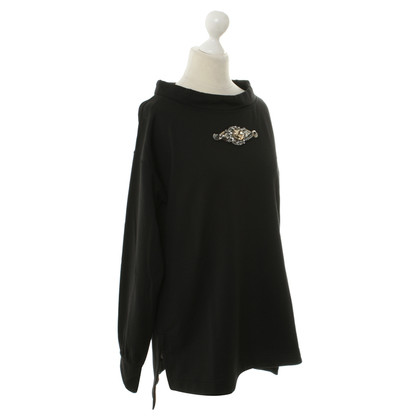 Roberto Cavalli Sweatshirt with decorative elements
