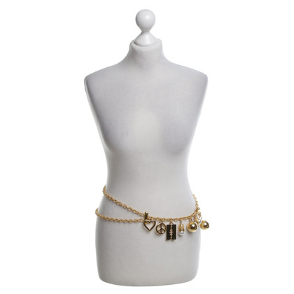 Moschino Chain belt with trailers